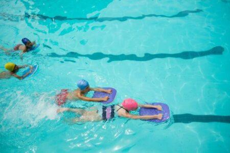 Schwimmkurs für Anfänger mit Begleitung (1 x pro Woche)